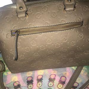 Christian Lacroix monogram crossbody handbag tote